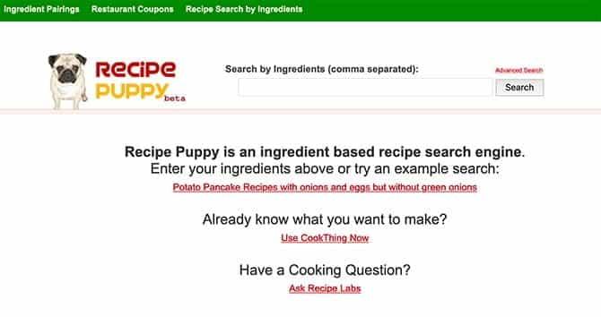 أفضل مواقع الويب للعثور على وصفات الطعام مع المكونات التي لديك