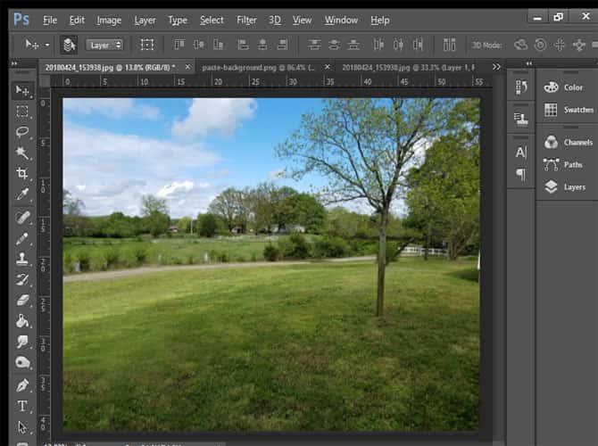 طرق مختلفة لاستخدام أداة Photoshop Clone Stamp