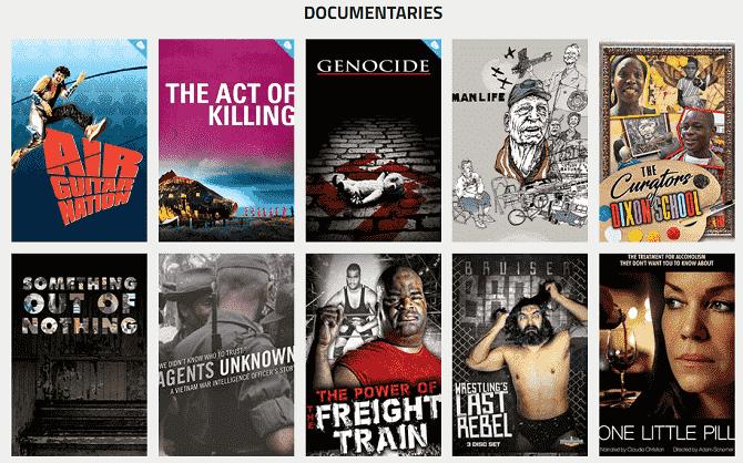 أفضل الأماكن لمشاهدة الأفلام الوثائقية المجانية على الإنترنت - مواقع
