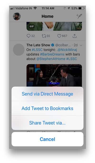012B252812529 DzTechs - 3 طرق فريدة لتنزيل مقاطع فيديو Twitter على iPhone