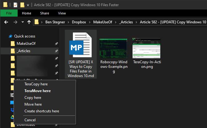 6 façons simples de copier rapidement un grand nombre de fichiers sous Windows - Windows
