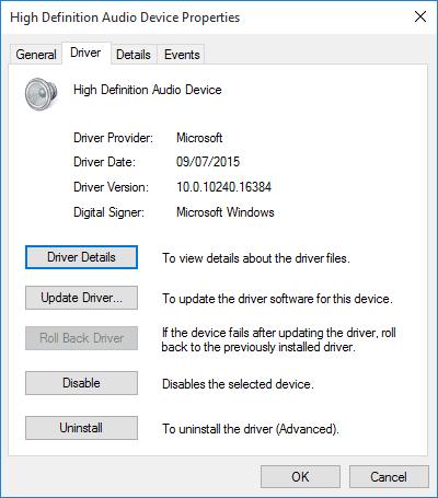 Étapes pour corriger les plantages audio sur Windows 10