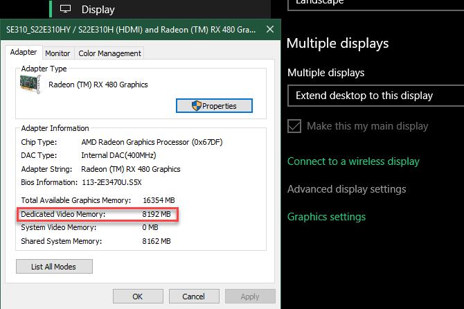 Comment augmenter la VRAM dans Windows 10