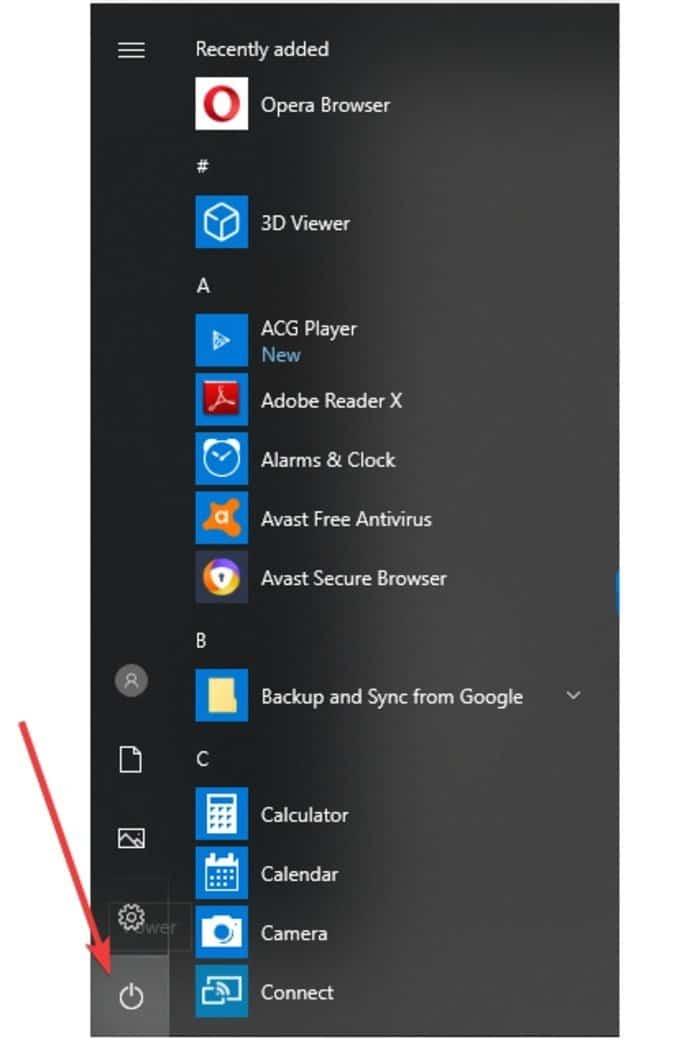 """fix bad system config info windows 10 start2B252812529 DzTechs - كيفية إصلاح خطأ """"معلومات تهيئة النظام غير صحيحة"""" في نظام التشغيل Windows 10"""
