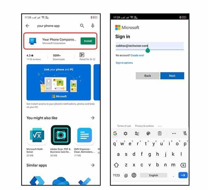 Votre compagnon de téléphone pour Windows : le guide complet d'utilisation - Android Windows