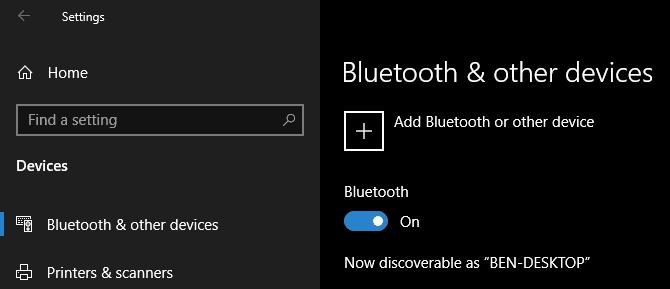 كيفية توصيل هاتفك المحمول بجهاز الكمبيوتر باستخدام Bluetooth - الويندوز هواتف