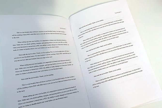 كيفية تحويل ملفات PDF إلى كتيبات قابلة للطباعة باستخدام BookletCreator