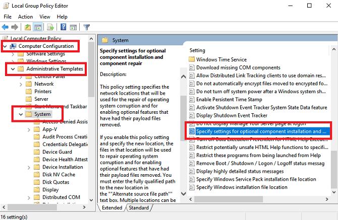 Comment réparer le code d'erreur 0x800F081F dans Windows 10