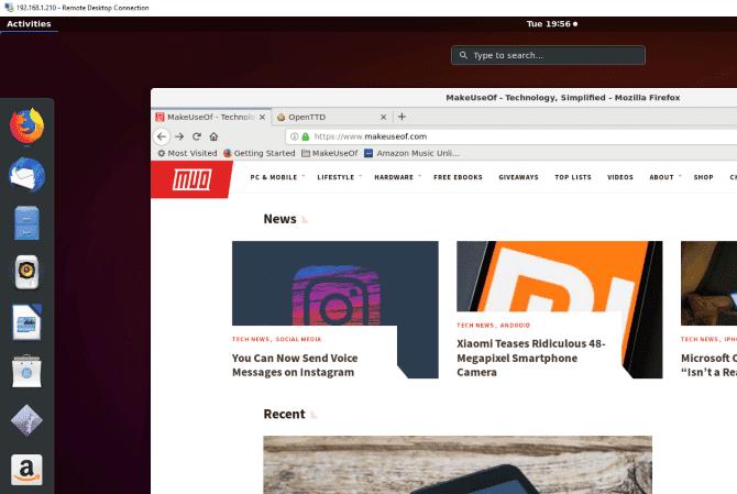 Comment accéder à distance au bureau Ubuntu à partir de Windows