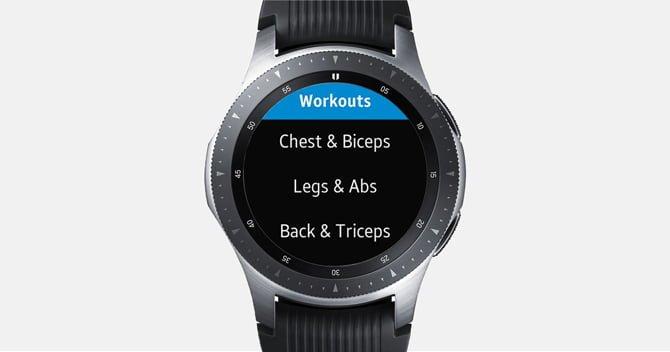 gymrun DzTechs - أفضل تطبيقات Galaxy Watch و Active 2 (لسنة 2020)