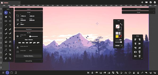 أفضل بدائل Adobe Illustrator المجانية المستندة إلى المتصفح - مواقع
