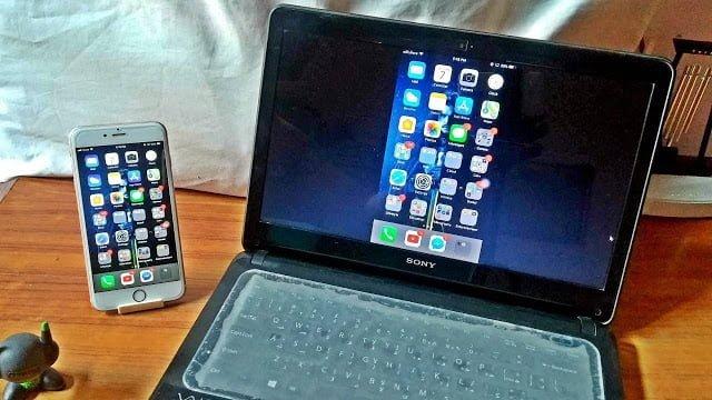 كيفية عمل النسخ المتطابق لشاشة iPhone أو iPad على كمبيوتر يعمل بنظام Windows