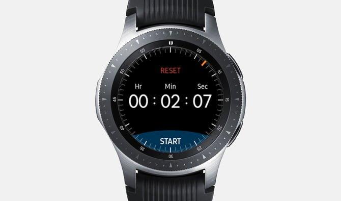 timer DzTechs - أفضل تطبيقات Galaxy Watch و Active 2 (لسنة 2020)