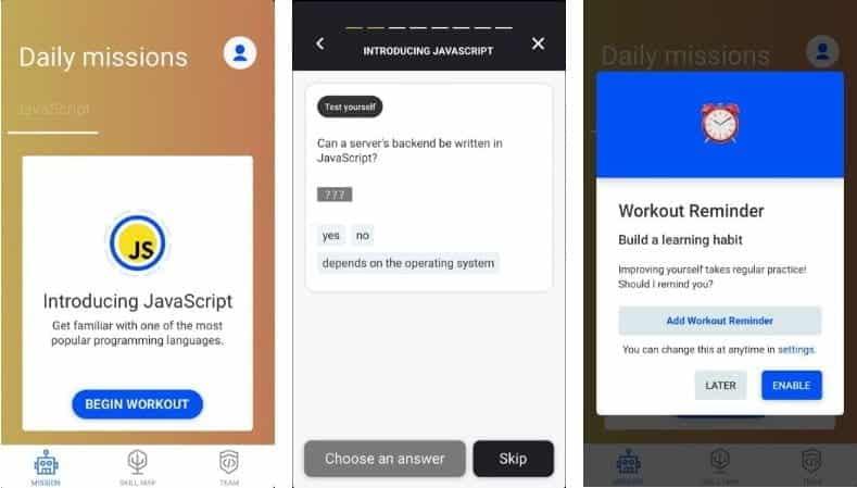 أفضل تطبيقات البرمجة التي تجعل الترميز أسهل لـ Android و iOS - Android iOS