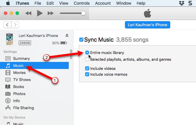 كيفية نقل الموسيقى من iPod قديم إلى جهاز الكمبيوتر أو iPhone