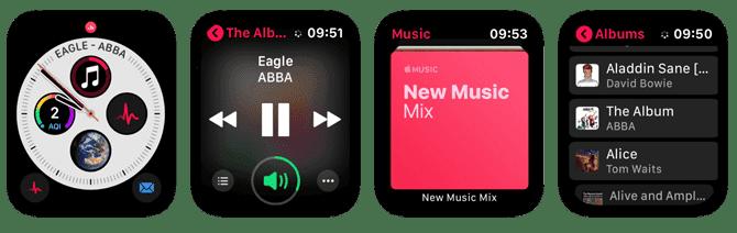 أفضل تطبيقات بث الموسيقى لمستخدمي Apple Watch