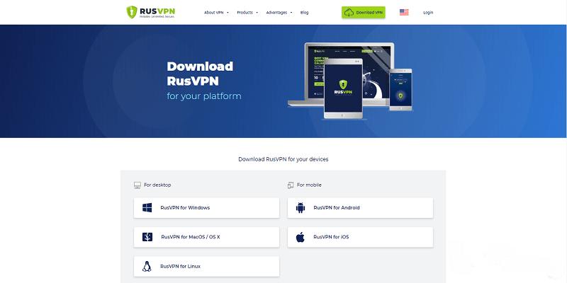 RusVPN DzTechs - أفضل خدمات VPN المجانية لـ Google Chrome