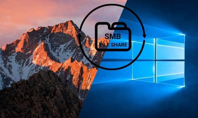 Comment accéder aux dossiers partagés sur Mac à partir de Windows 10 - Mac Windows