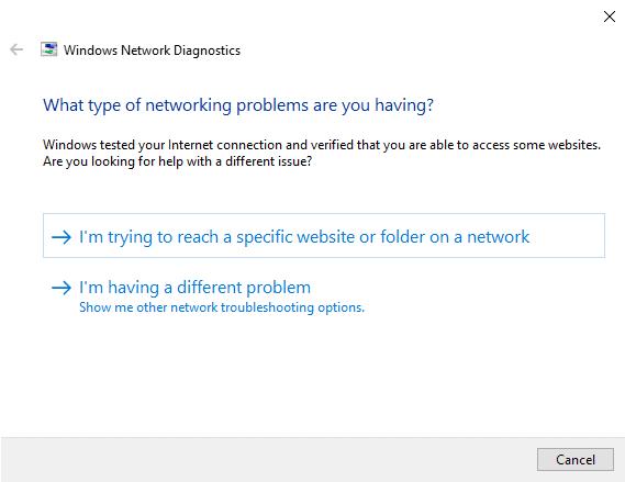"""الحلول المضمونة من أجل إصلاح خطأ """"No Internet, secured"""" في Windows 10 - الويندوز"""