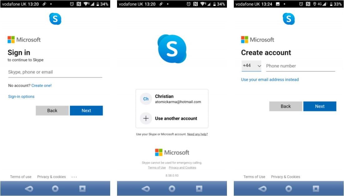 Comment utiliser Skype sur les appareils Android et iOS pour les débutants - Android iOS