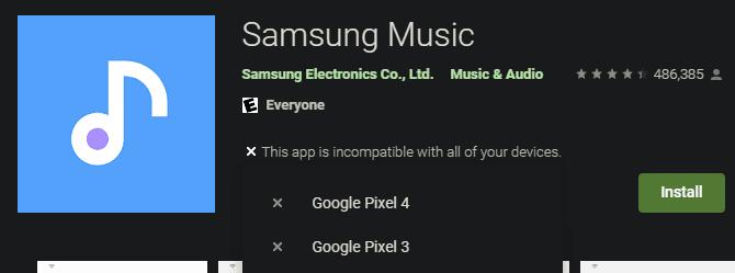 لماذا لا يمكنني تنزيل تطبيقات معينة من Play Store؟