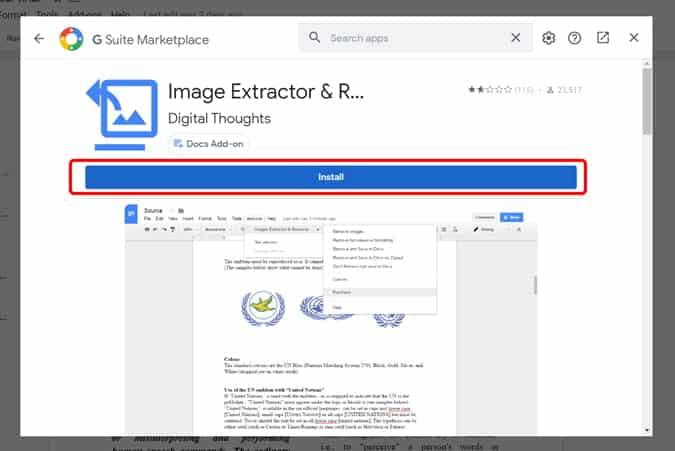 كيفية تنزيل الصور من محرر مستندات Google