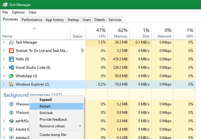 أفضل حيل مدير مهام Windows التي ربما لم تكن تعرفها