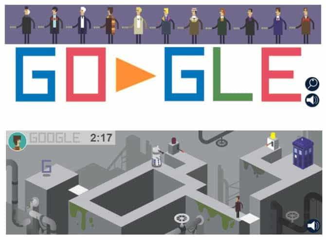 أفضل الألعاب في شعارات Google المبتكرة الرائجة لتمضية الوقت