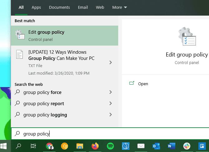 Meilleures façons de modifier la stratégie de groupe Windows qui améliorent votre PC - Windows