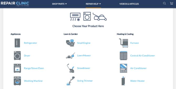 La meilleure ressource de bricolage pour réparer les appareils électroménagers et résoudre les problèmes courants à la maison par vos propres sites