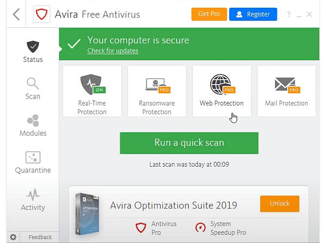 أفضل تطبيقات مكافحة الفيروسات وأمن الإنترنت المجانية لسنة 2021 - الأفضل البرامج