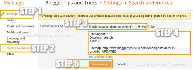 blogger custom robots txt DzTechs - كيفية إنشاء ملف Robots.txt المثالي لـ SEO: ما هو وكيفية استخدامه بالتفصيل