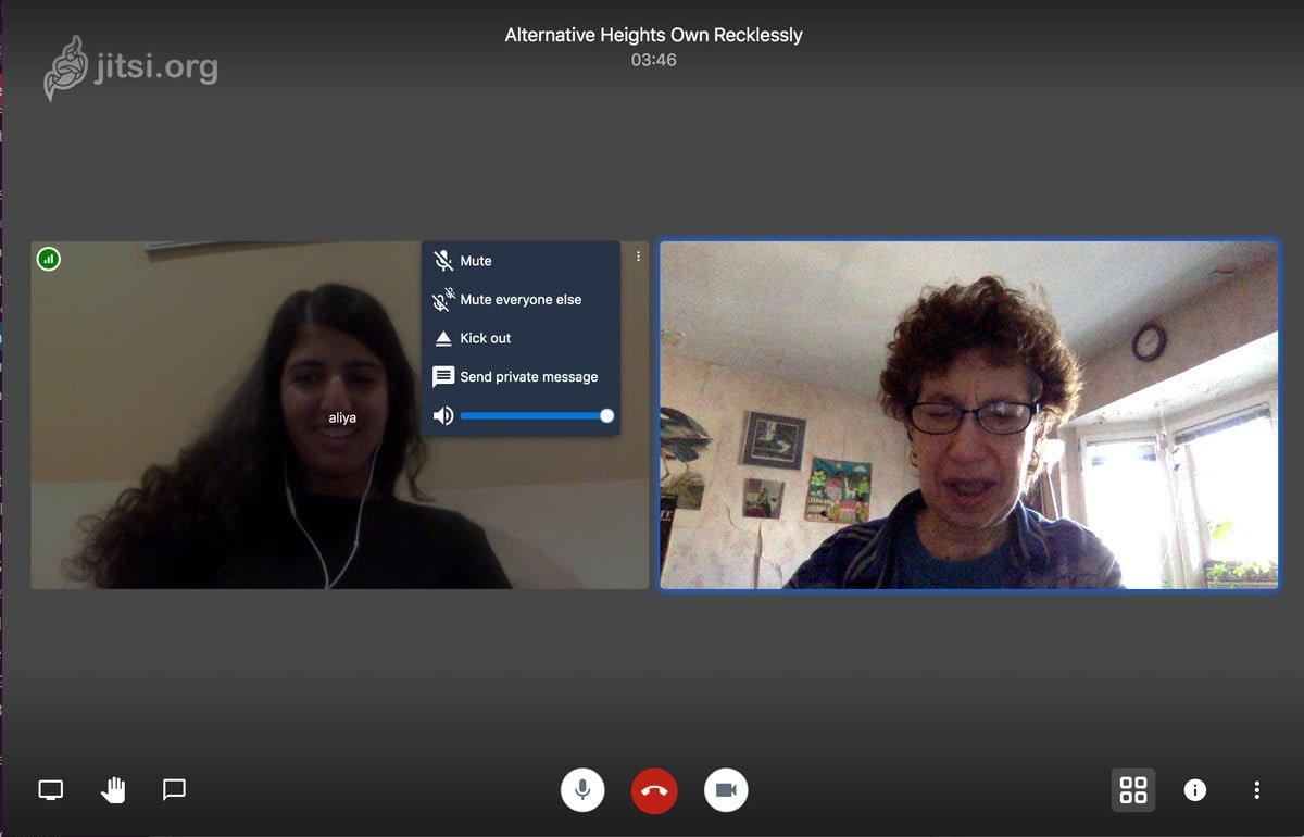 jitsi meet DzTechs - أفضل بدائل Skype الشهير لإجراء المكالمات المجانية