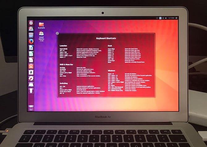 كيفية إنشاء  محرك أقراص USB لـ Linux والتمهيد منه على جهاز Mac