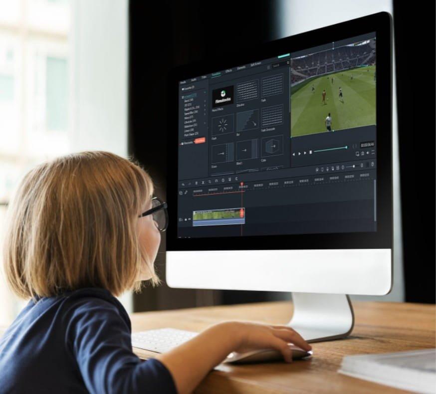 أفضل تطبيقات تحرير الفيديو سهلة التعلم للأطفال - الويندوز
