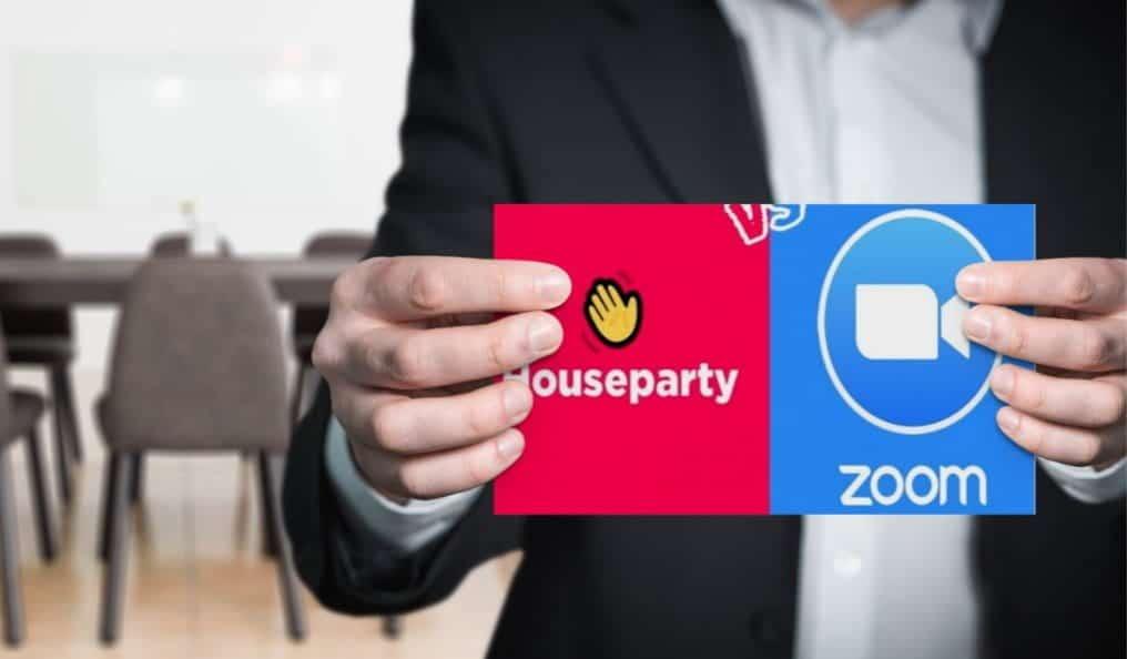 مقارنة بين Zoom و Houseparty: ما هو أفضل تطبيق مكالمات الفيديو