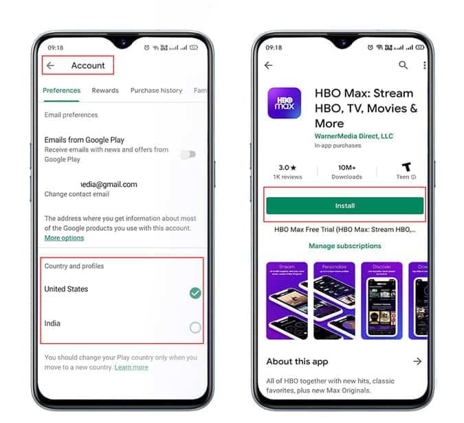 Comment obtenir HBO Max en dehors des États-Unis sur Android et iOS - Tutoriels