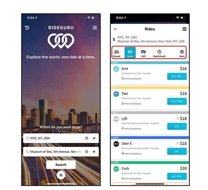 تطبيق سيساعدك على توفير المال أثناء استخدام Uber و Lyft