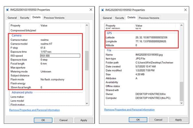 كيفية إزالة البيانات الوصفية من الصور على Windows و Mac و Linux - شروحات