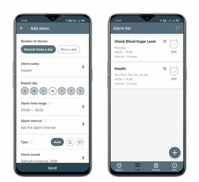 Repeat Alarm QdTQ0Xfs تطبيقات مرضى السكر تطبيقات تساعد مرضى السكري تطبيقات لمرضى السكري - أفضل التطبيقات لمرضى السكري على iOS و Android