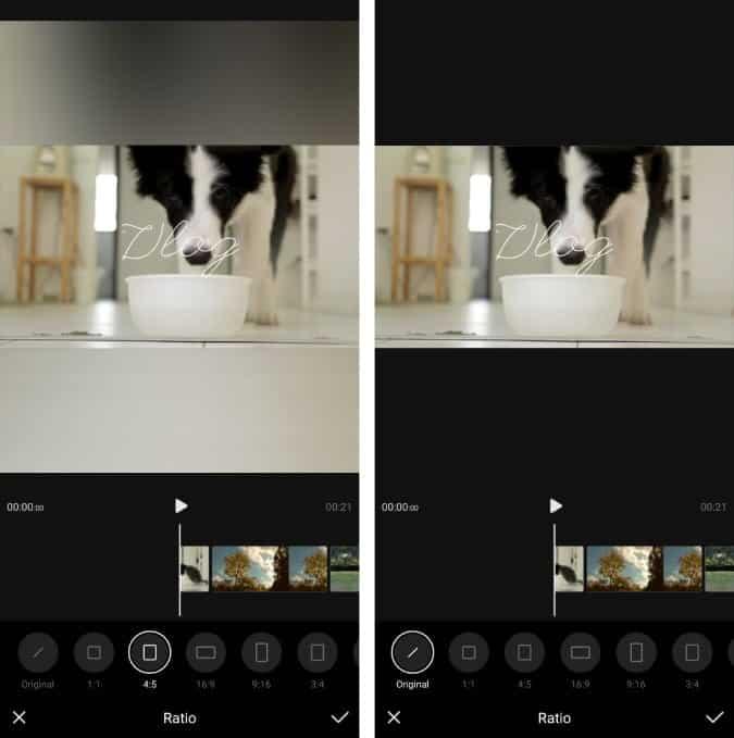 Screenshot 20200624 173719 VITA 1 KmtNVYfs DzTechs - أفضل تطبيقات تعديل الفيديو المجانية للتدوين المرئي (Vlog) على Android و iOS