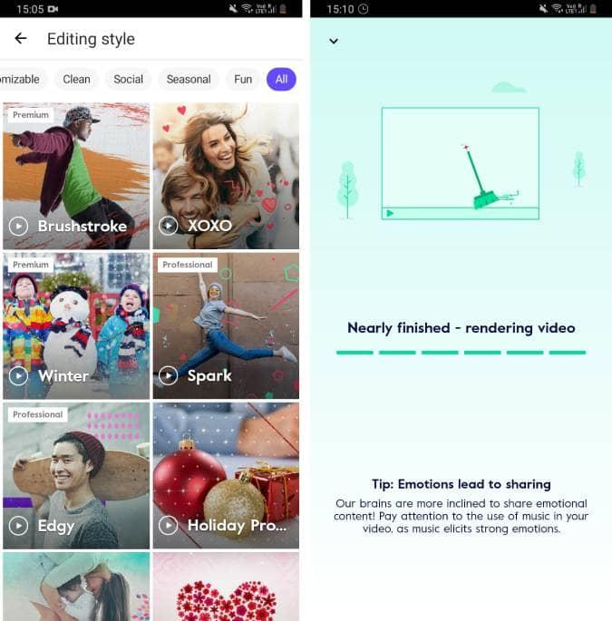 Screenshot 20200627 150600 Magisto NjZNVYfs DzTechs - أفضل تطبيقات تعديل الفيديو المجانية للتدوين المرئي (Vlog) على Android و iOS