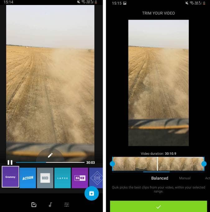Screenshot 20200627 151441 Quik 1 oAZNVYfs DzTechs - أفضل تطبيقات تعديل الفيديو المجانية للتدوين المرئي (Vlog) على Android و iOS