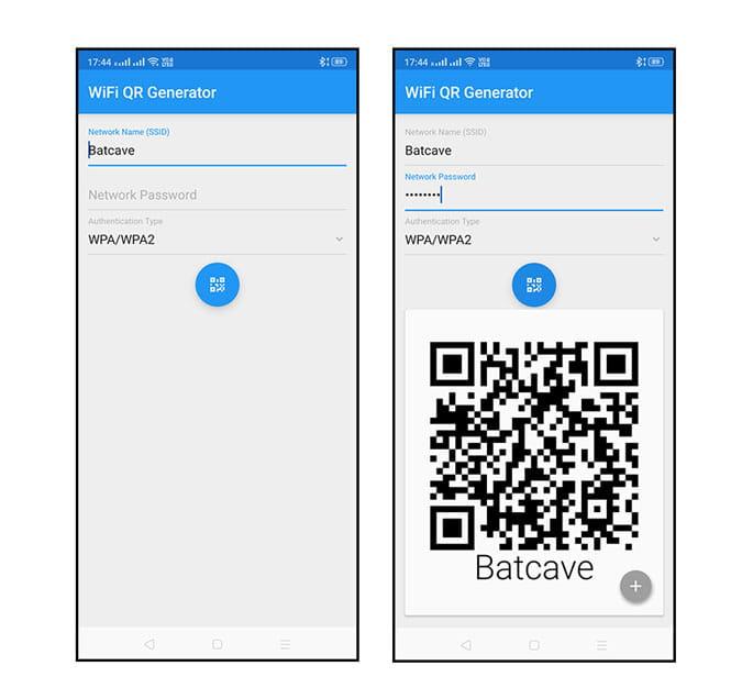 أفضل التطبيقات لإنشاء رمز QR لمشاركة كلمة مرور Wifi من هاتف إلى آخر