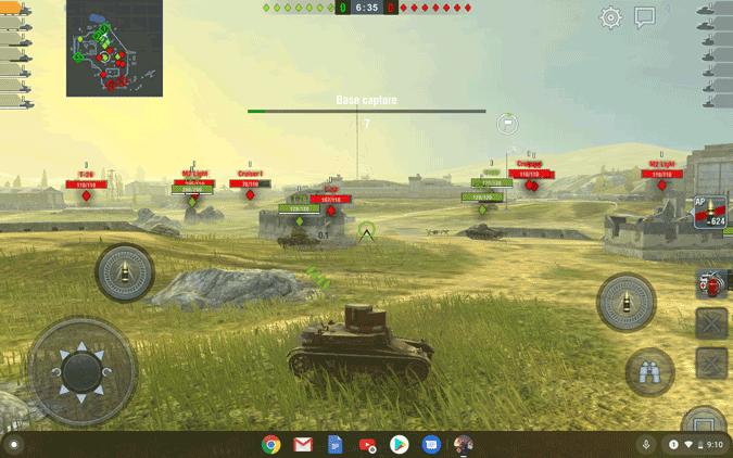 Wordof tanks DzTechs - أفضل الألعاب التي يمكن لعبها على أجهزة Chromebook (2020)