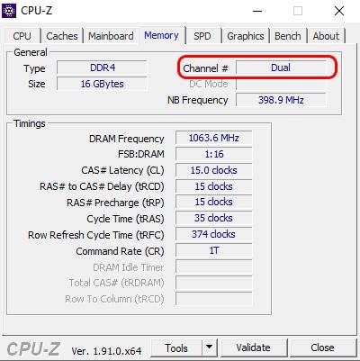 كيفية التحقق من ذاكرة الوصول العشوائي مزدوجة القناة على Windows 10 و iMac - شروحات