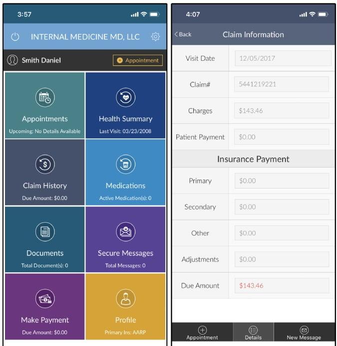 mtbc phr DzTechs - أفضل تطبيقات السجلات الطبية لنظام التشغيل Android و iOS في حالات الطوارئ