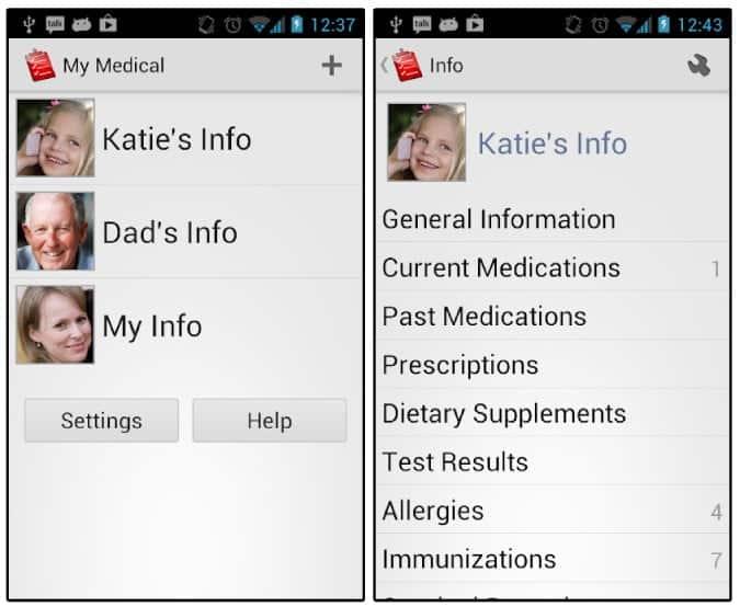 my medical records apps DzTechs - أفضل تطبيقات السجلات الطبية لنظام التشغيل Android و iOS في حالات الطوارئ