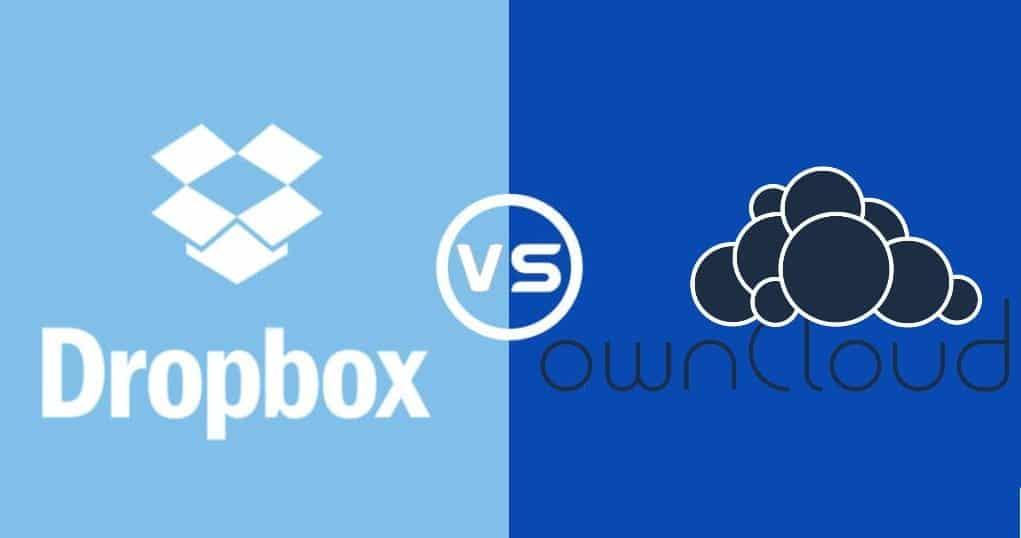 Comparaison détaillée de Dropbox et OwnCloud - Quel cloud vous convient le mieux - Avis