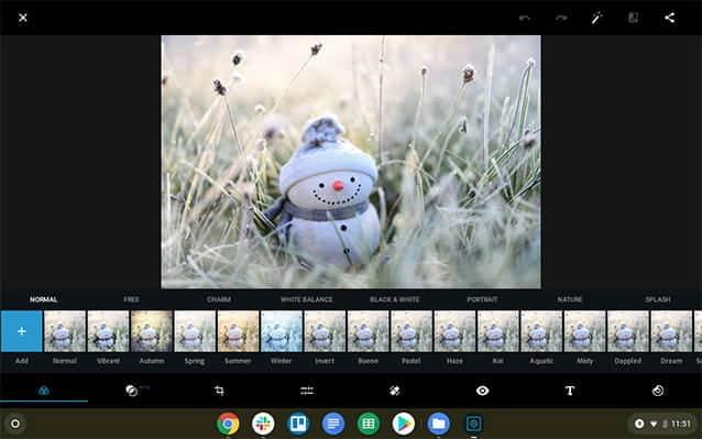 أفضل تطبيقات تحرير الصور لأجهزة Chromebook - Chromebook